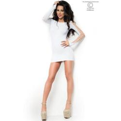 CR 3608  SM  White seamless Minidress
