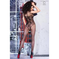 CR 4233  S/M  Black Bodystocking