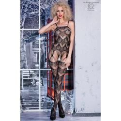CR 4234  S/M  Black Bodystocking