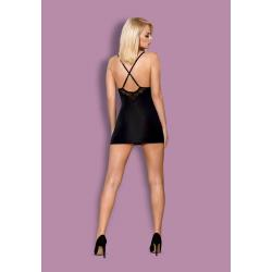 828-CHE-1 chemise & thong  S/M