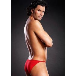Microfiber Pouch Bikini Red L/XL