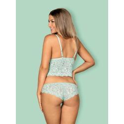 Delicanta top & panties  S/M mint