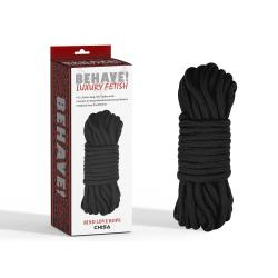 Bind Love Rope Black