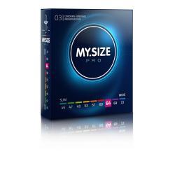 MY SIZE PRO Condoms 64 mm (3 pieces)