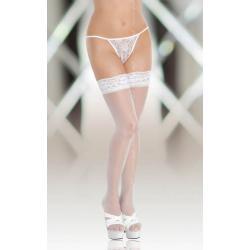 Stockings 5514 {} white/ 3