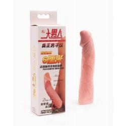 Realistic Penis Sleeve I , flesh, 4x19 cm