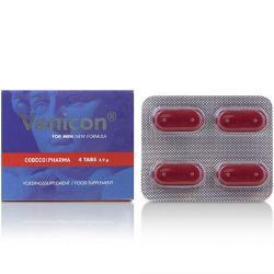 Venicon for Men (4 tabl.) Növényi összetevőket tartalmazó étrend kiegészítő tabletta férfiaknak