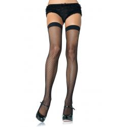 NYLON FISHNET STOCKING O/S BLK